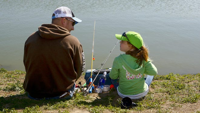 Giant Springs holds a kids' fishing day Saturday in Great Falls.