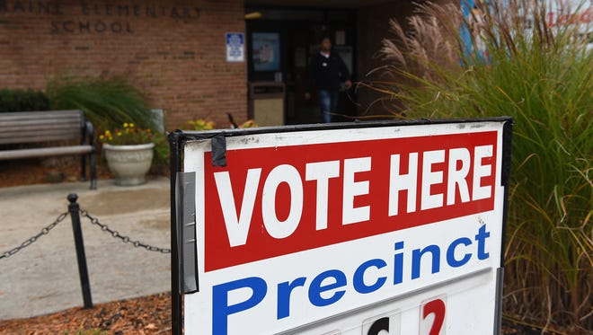 Precinct 2 voters went to Northville's Moraine Elementary.
