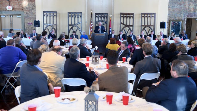 The 2018 South West Tennessee Development District's Legislative Luncheon was held Wednesday, Jan. 3.