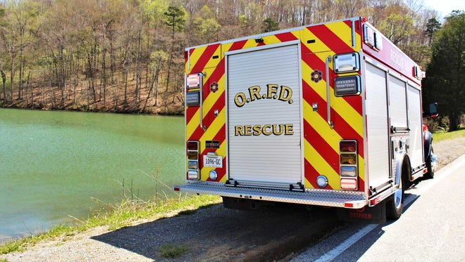 Oak Ridge Fire Department rescued a stranded canoeist Thursday afternoon.
