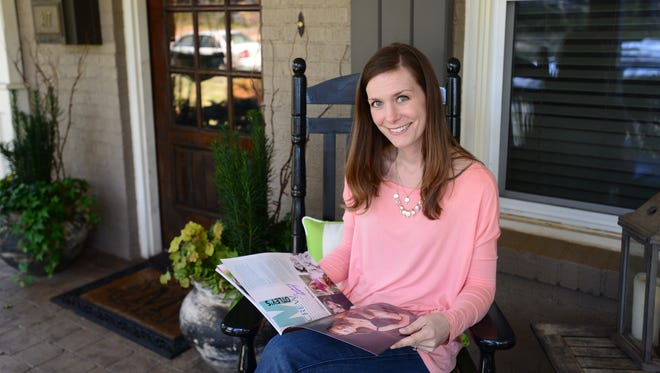 Lindsey Motley is featured in this year's Colondar, a national magazine and calendar that shares experiences of young colon cancer survivors.