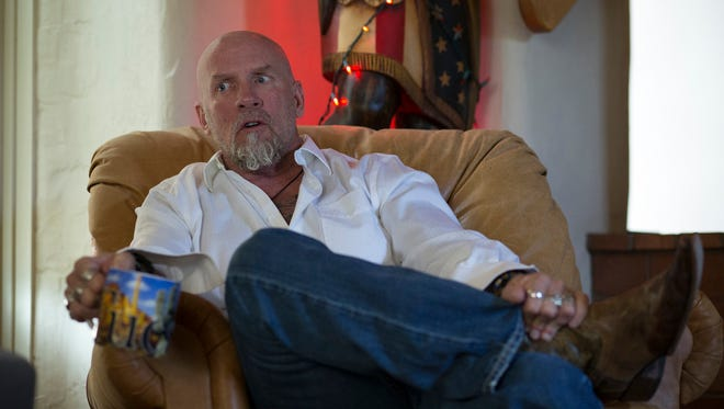 Former ATF agent Jay Dobyns talks about his undercover work on Oct. 15, 2014. A federal judge has voided his own judgment in Dobyns' lawsuit against ATF.