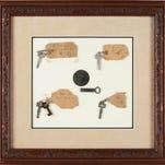 Keys, lightbulbs tied to Thomas Edison sell at auction