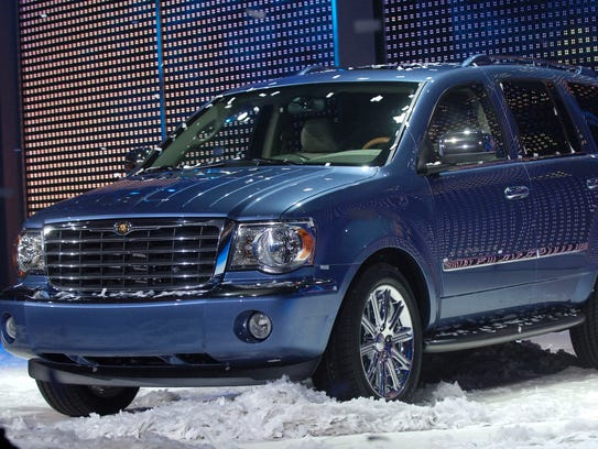 Chrysler introduced the new 2007 Chrysler Aspen SUV