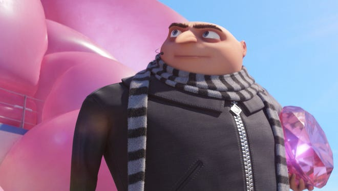 "Steve Carell returns as Gru in ""Despicable Me 3."""