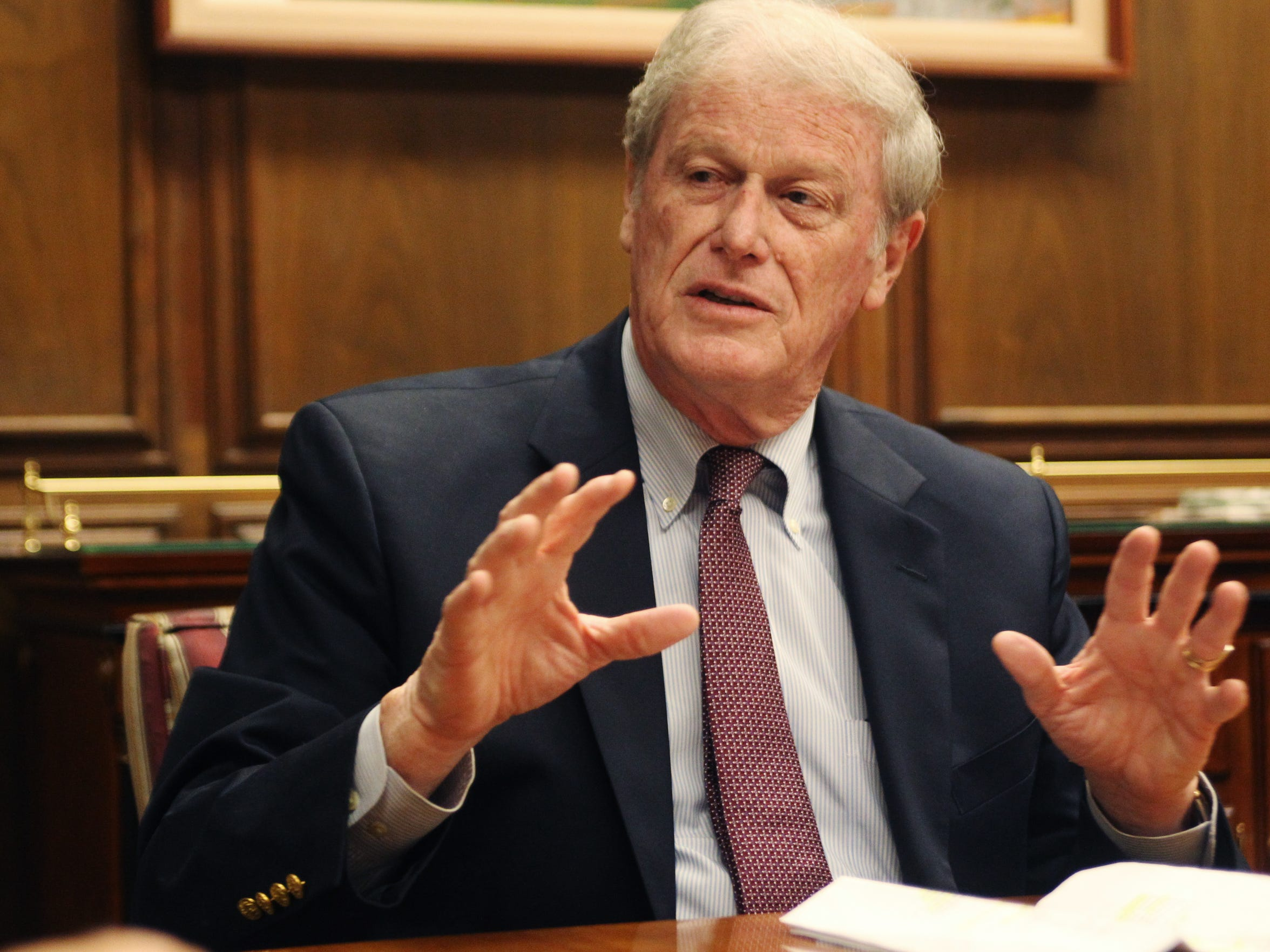 Florida State University President John Thrasher has made efforts to prevent hazing on campus.