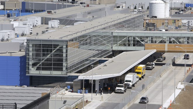 The new Detroit Metropolitan Airport North Terminal is shown in Romulus just before opening in Sept. 2008. It was built by Walbridge