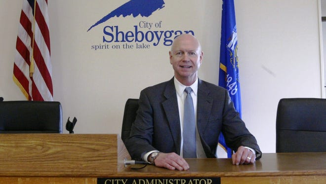 Sheboygan City Administrator Darrell Hofland started this week.