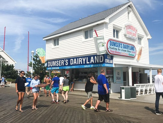 The building that houses Dumser's Dairyland on the