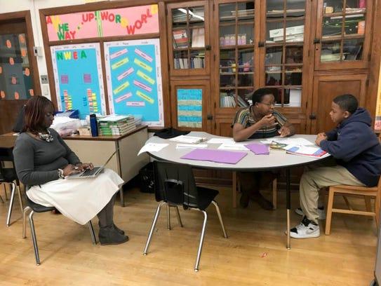 Bethune Elementary-Middle School Principal Alisanda