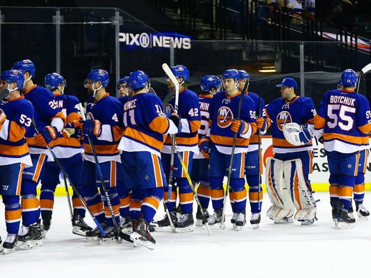 USP NHL: WASHINGTON CAPITALS AT NEW YORK ISLANDERS S HKN NYI WSH USA NY