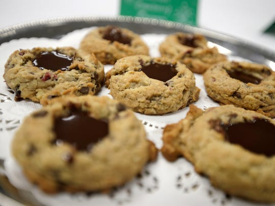 Barbara Mann, Green Bay, is a finalist in the USA TODAY NETWORK-Wisconsin Holiday Cookie Recipe Contest with her Bourbon Cranberry Chippers.
