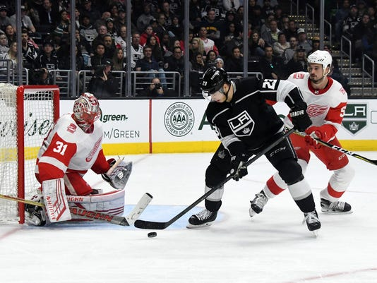 NHL: Detroit Red Wings at Los Angeles Kings
