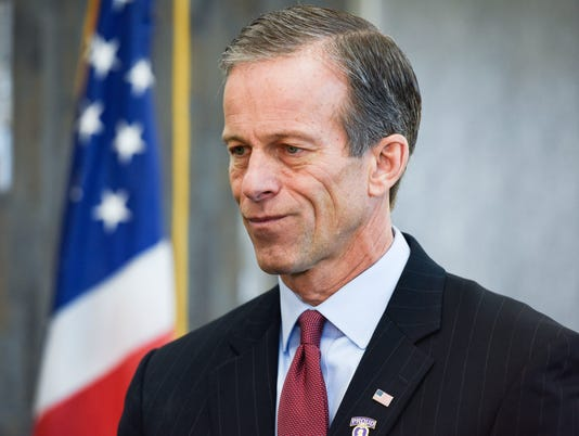 purple heart, John Thune