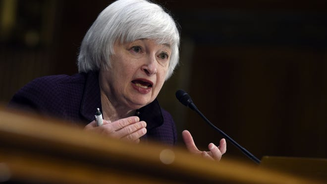 Federal Reserve chair Janet Yellen is slated to testify before the Senate banking committee on Tuesday.