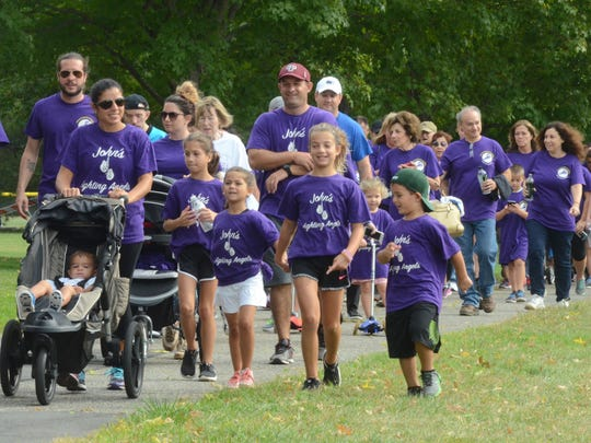 Attendees during the annual Pancreatic Cancer walk in September 2016. Photo by freelancer Keith Smollin for NJMG.