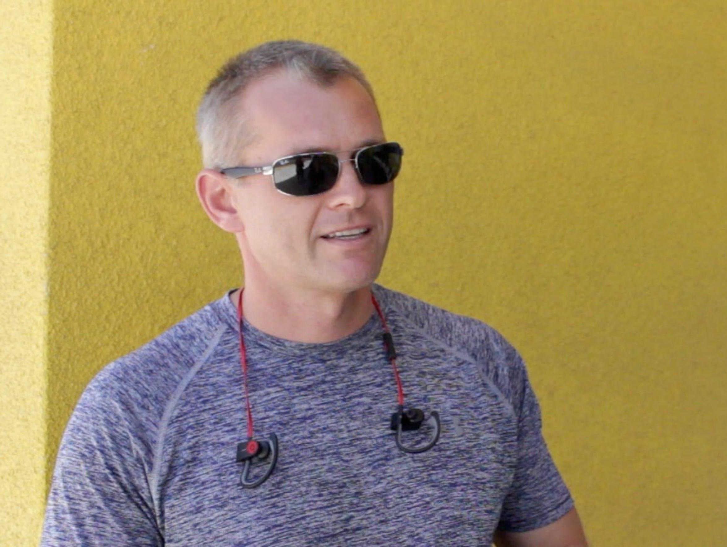 Coachella resident Gregory Iosza said he would bike
