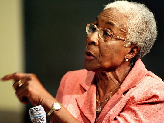 Tallahassee Civil Rights legend Laura Dixie makes a