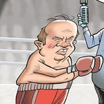 Detroit Mayor Mike Duggan delivers a knockout blow