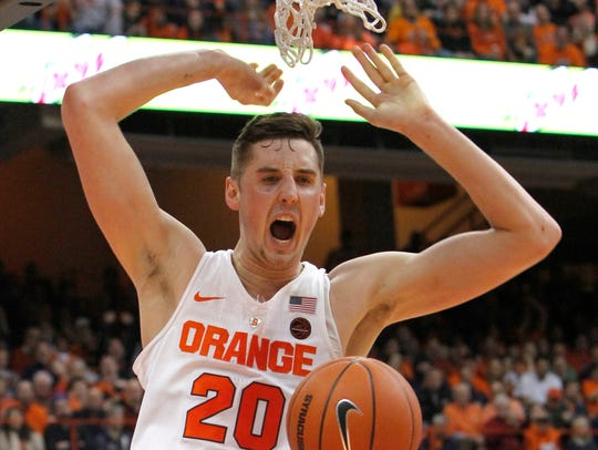 Battle Lydon Lead Syracuse In Dominating Win Over Bc