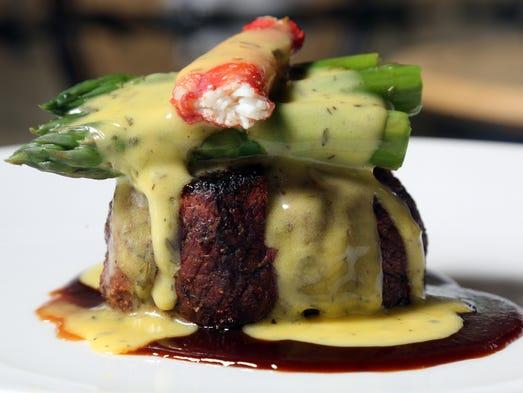 Steak Collinsworth at Jeff Ruby Steakhouse.