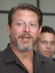 """Former Vice President Al Gore, shown here in 2001, was one of the early adapters of the phrase """"It is what it is."""""""