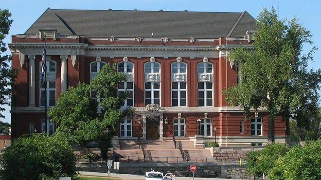 Missouri Supreme Court Building in Jefferson City.