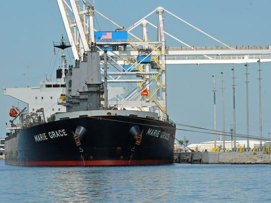 Port cargo ship Marie Grace