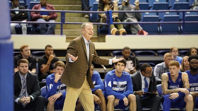 MTSU coach Kermit Davis