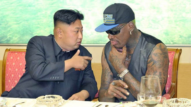 North Korea's Kim Jong Un and Dennis Rodman have become friends over the years.