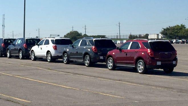 The Oshawa Car Assembly Plant, part of General Motors, in Oshawa, Ontario on Sept. 20, 2016.