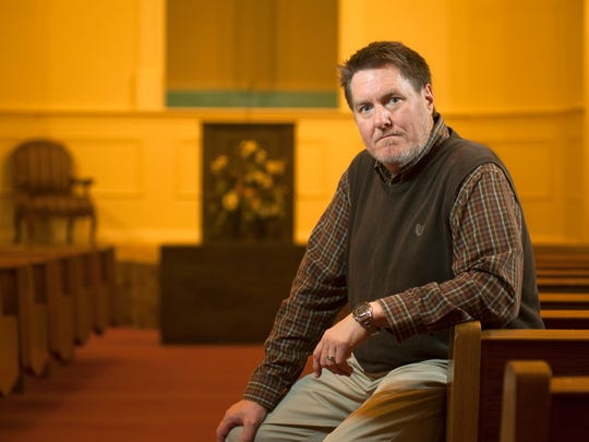 Minister Les Ferguson returned to the pulpit in 2014 after stepping away for a time following the slaying of his wife and son on the Mississippi Gulf Coast.
