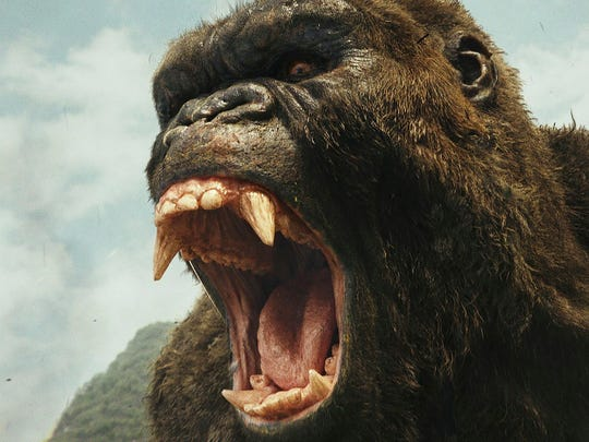 "This image shows a scene from, ""Kong: Skull Island."""