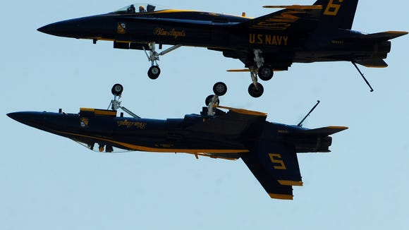 The U.S. Navy Blue Angels will perform over Memorial Day weekend at the Millville Wheels & Wings Air Show.
