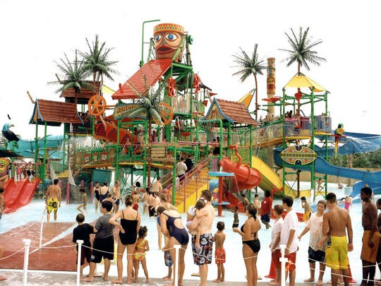 Photo provided of the Laguna Kahuna water park, which Clementon Amusement Park plans to add as they expand their park for the new season.