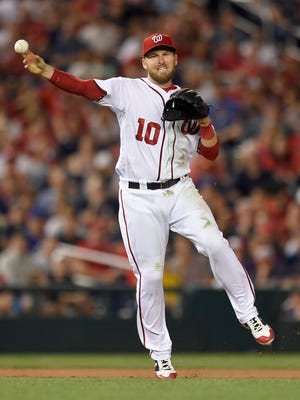 Stephen Drew and the Nationals are No. 2 in the NL power rankings this week.