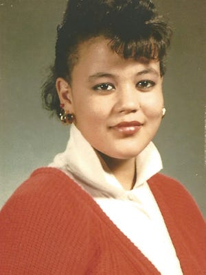 Raynette Turner when she was high school-aged.