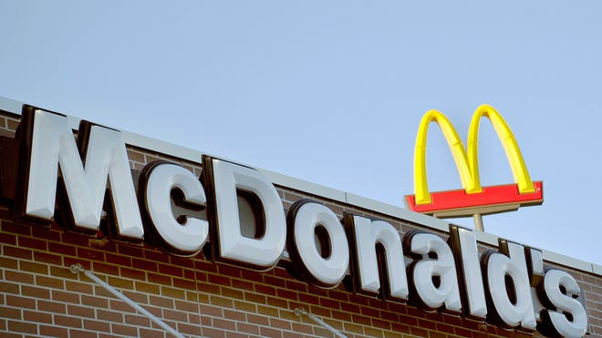 A McDonald's restaurant in Bismark, N.D.