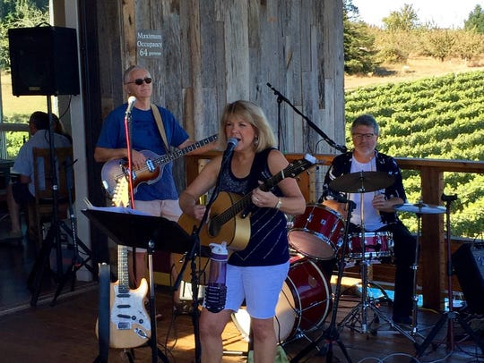 The Leanne McClellan Band, a four-piece band performing