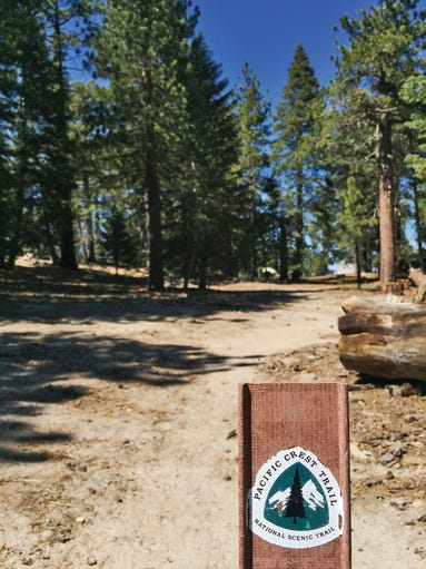 A section of the renowned Pacific Crest Trail runs