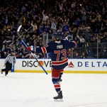 Rangers rally from 2-0 deficit to beat Bruins