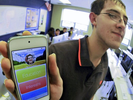 Matt Seaman, a junior at Chambersburg Area Career Magnet School, met a challenge from Apple to create an app on his iPhone. They liked the app enough to invite the student to an Apple convention.