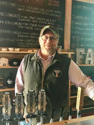 Ironbound Hard Cider founder Charles Rosen.