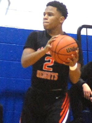 Hasbrouck Heights guard Jasiah Purdie helped lead the Aviators to one of the top records for the school's program with an 18-9 mark.