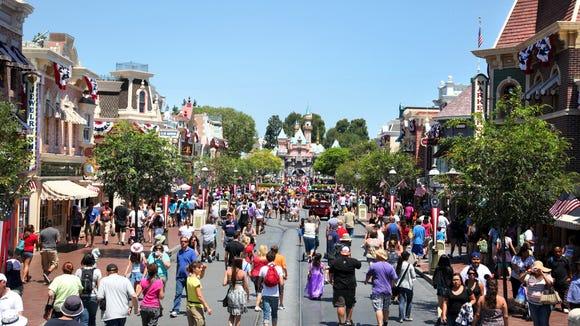 Disneyland Main Street. Credit: Paul Hiffmeyer/Disneyland
