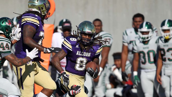 Alcorn State tailback De'Lance Turner rushed for 171 yards and two touchdowns in Saturday's win over Mississippi Valley State.