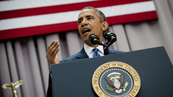 President Obama speaks about the Iranian deal at American University in Washington on Aug. 5.