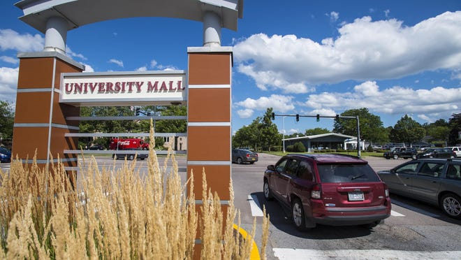 The University Mall is across Dorset Street from South Burlington's proposed new downtown.