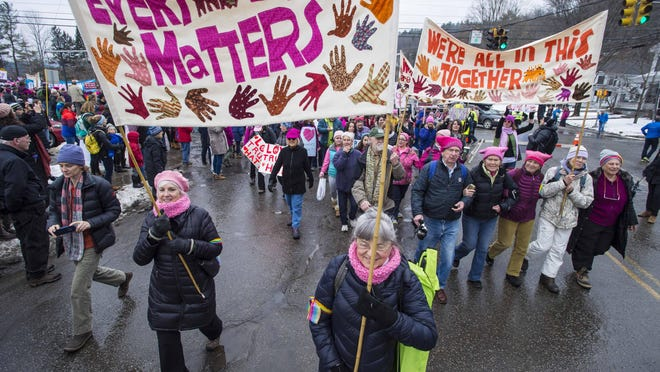 The Vermont Historical Society is seeking signs from the Jan. 21 Women's March in Montpelier.