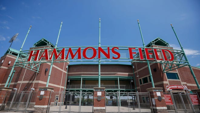 Scenes from what would have been the Springfield Cardinals' home opener on April 16 at Hammons Field in Springfield.